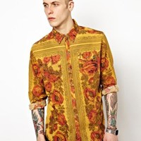 Insight Shirt Long Sleeve Floral Dibbs at asos.com