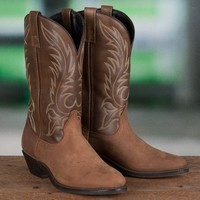 Laredo Ladies' Brown Western Boots - Boots - Women's