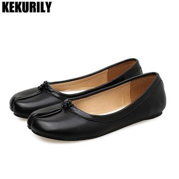 Summer casual Shoes Woman closed toe Loafers flats slides Shallow Slip on Sandals flip flops Lolita Shoes zapatos mujer black