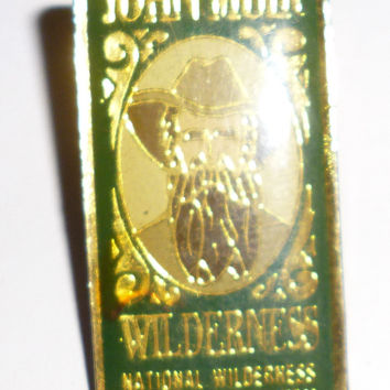 John Muir Wilderness National Wilderness Preservation System Pin