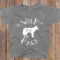 Wolf Pack Pup Shirt - Wolf Pack Apparel