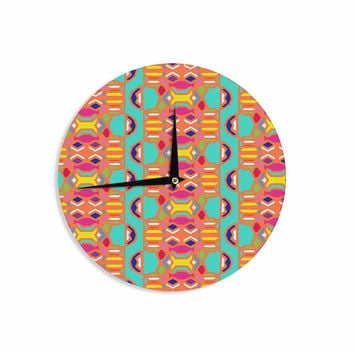 "Miranda Mol ""Summer Fun"" Treal Orange Wall Clock"
