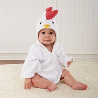 Adorable Baby Spa Robe (Monogram Available) - Chicken