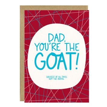 GOAT Funny Father's Day Card