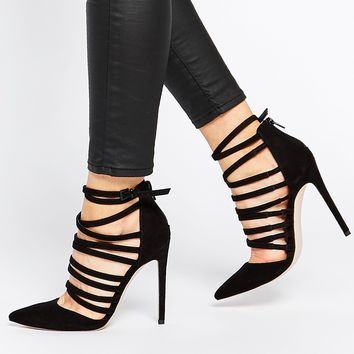 ASOS PROMOTE Pointed High Heels