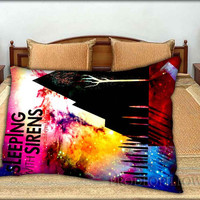 """Pierce The Veil and Sleeping with Sirens - 20 """" x 30 """" inch,Pillow Case and Pillow Cover."""