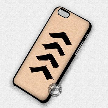 New Arrows Tattoo Liam Payne One Direction - iPhone 7 6 Plus 5c 5s SE Cases & Covers