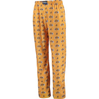 Los Angeles Lakers UNK All Over Print Pajama Pants - Gold