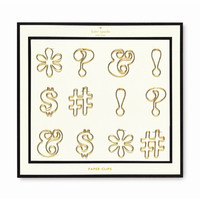kate spade new york Expletive Paper Clips