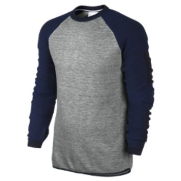 Nike NikeLab Knit Crew Men's Sweatshirt Size 3XL (Grey)