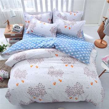 Bed linen set bedding set sale bedclothes duvet cover bed sheet pillowcases