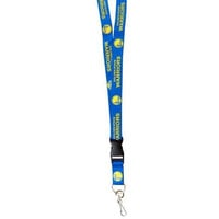 Golden State Warriors Lanyard - Breakaway with Key Ring