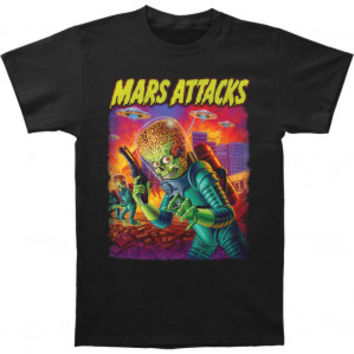 Mars Attacks! UFO's Attack T-shirt - Rockabilia