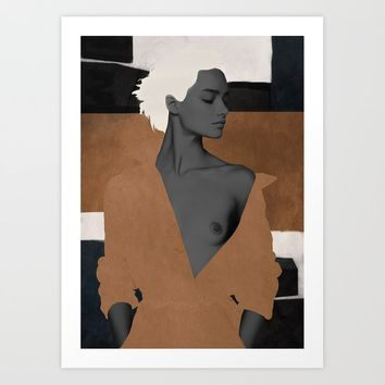 Beauty Art Print by dada22