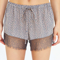 Out From Under Bella Lace Trim Short - Urban Outfitters