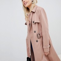 New Look Structured Mac Trench Coat at asos.com