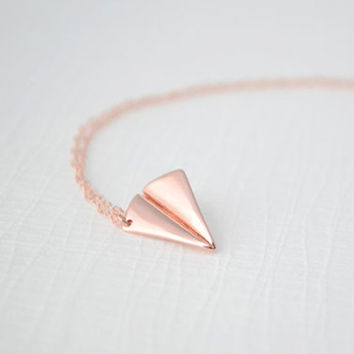 Olive Yew!: Paper Airplane Necklace, at 13% off!