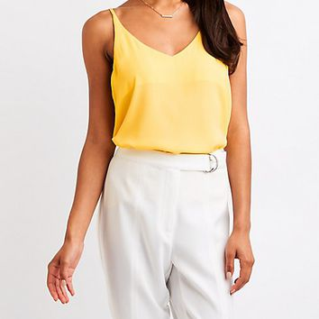 Sleeveless Swing Top | Charlotte Russe