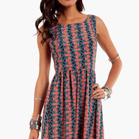 Tangrams Tank Dress $48