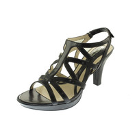 Naturalizer Womens Danya Faux Leather Dress Strappy Sandals