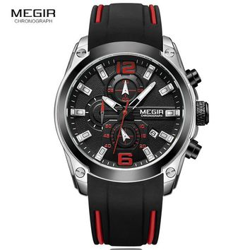 Megir M2063G Chronograph Quartz Waterproof Sports Watch