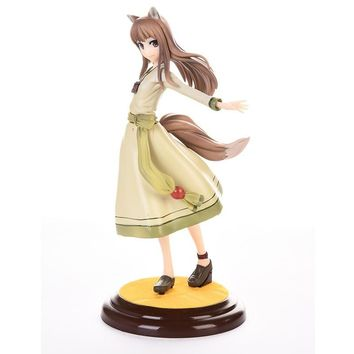 Spice And Wolf Holo Action Figure 1/8 scale painted figure Cute Holo PVC ACGN figure Garage Kit Toys Brinquedos Anime