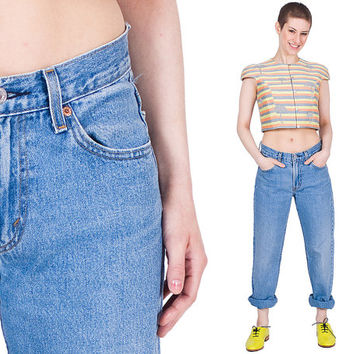 High Rise Levi's Jeans 80s Mom's Vintage 1980s
