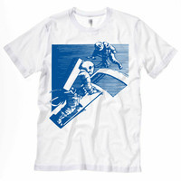 Astronaut Retro Space Travel T-Shirt