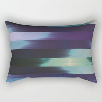 Feels Calm Rectangular Pillow by Ducky B