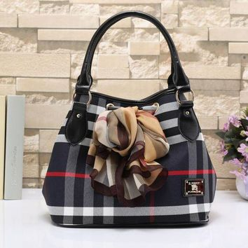 Burberry Women Fashion Trending Shopping Leather Shoulder Bag Satchel Crossbody Black G