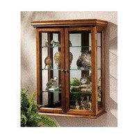 Design Toscano Country Tuscan Style Hardwood Wall Curio