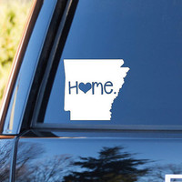 Arkansas Home Decal | Arkansas State Decal | Homestate Decals | Love Sticker | Love Decal  | Car Decal | Car Stickers | Bumper | 044