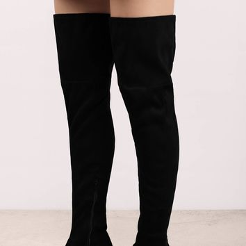 Geller Suede Thigh High Boots