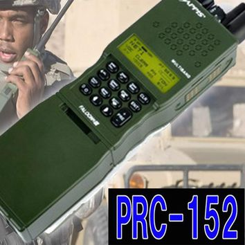 Tactical PRC-152 Radio Dummy Talkie Walkie Case Radio Prc Tactical Military Airsoft Gear Hunting Sport No Function