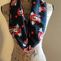 minnie - mouse - disney - infinity  - scarf