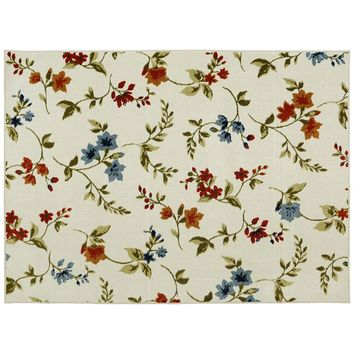 Mohawk Home Refinements Tossed Floral Frenzy Rug