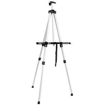 Aluminium Alloy 3 Folding Painting Easel Adjustable Tripod Artist With Carry ba