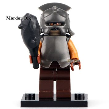 Single Sale Mordor Orc PG521 Lord of The Rings 79007 Battle at The Black Gate Building Blocks Kids Toys Children Gift PG8036