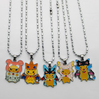 Pikachu in a Costume Necklace