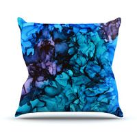 "Claire Day ""Lucid Dream"" Throw Pillow, 16"" x 16"" - Outlet Item"