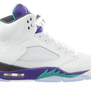 Jordan 5 White Grape Retro