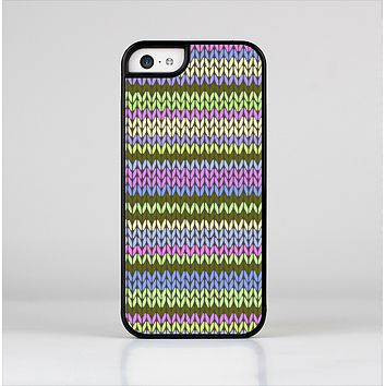 The Colorful Knit Pattern Skin-Sert Case for the Apple iPhone 5c