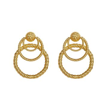 Triple Hoop Earrings – For Love & Lemons