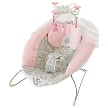 Rose Chandelier Deluxe Bouncer