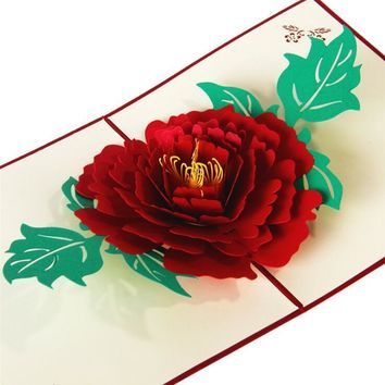 3D Pop Up Flower Gift Craft