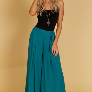 Classic Trousers Teal