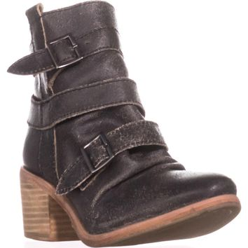 Kelsi Dagger Brooklyn Grand Ankle Booties, Black, 7.5 US