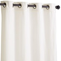 Plush Curtain - Ivory