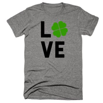 Irish Love (Four Leaf Clover) Shirt
