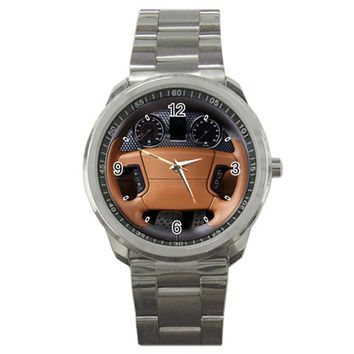 2009 Bentley Azure T Steering Wheel Sport Metal Watch